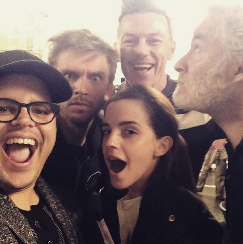 "Emma Watson bekommt berühmte Unterstützung für ""The Beauty & the Beast"""