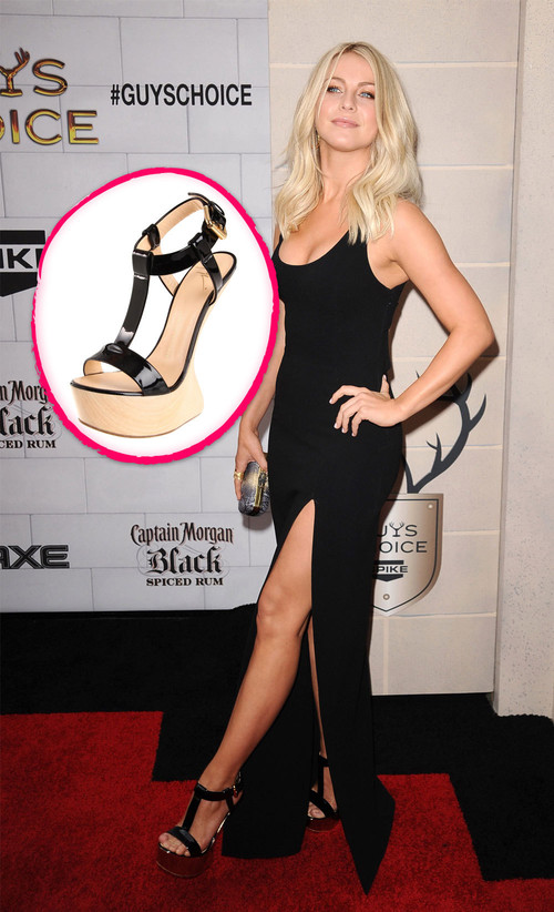 "Julianne Hough kam in High Heels ohne Heels zur Vergabe der ""Guys Choice Awards"""
