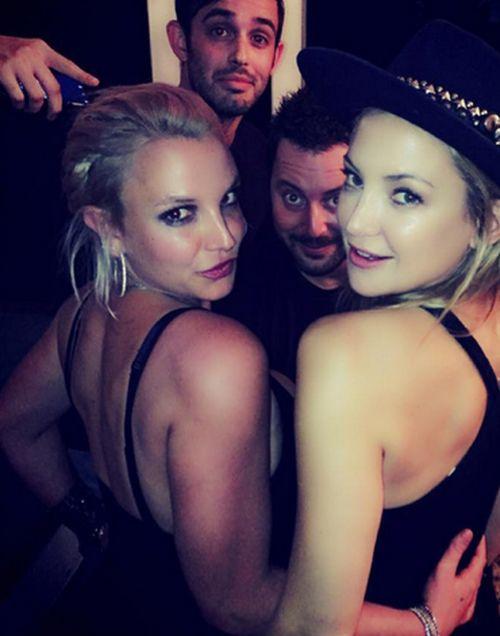 Kate Hudson feierte mit Britney Spears