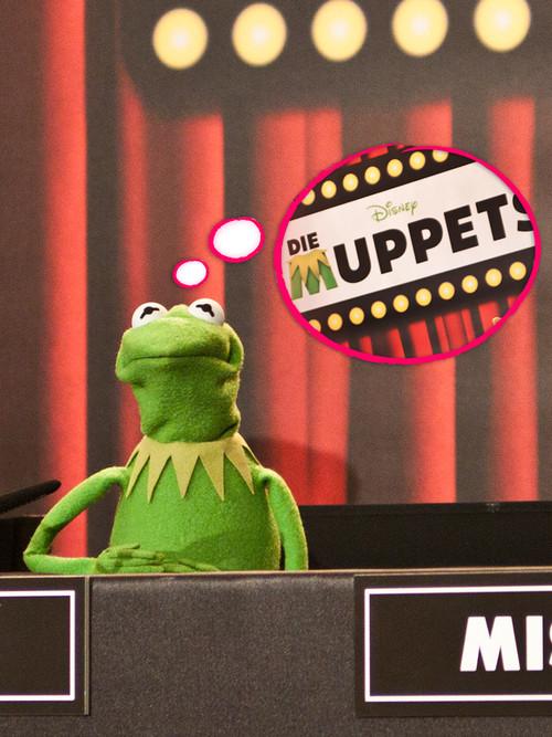 """Der Titel """"Die Muppets"""" sorgte für einen Schock bei Kermit"""