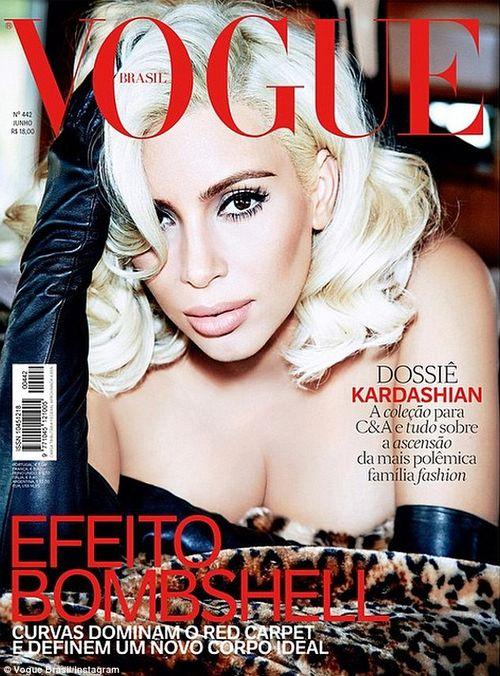 Kim Kardashian ziert wieder die Vogue
