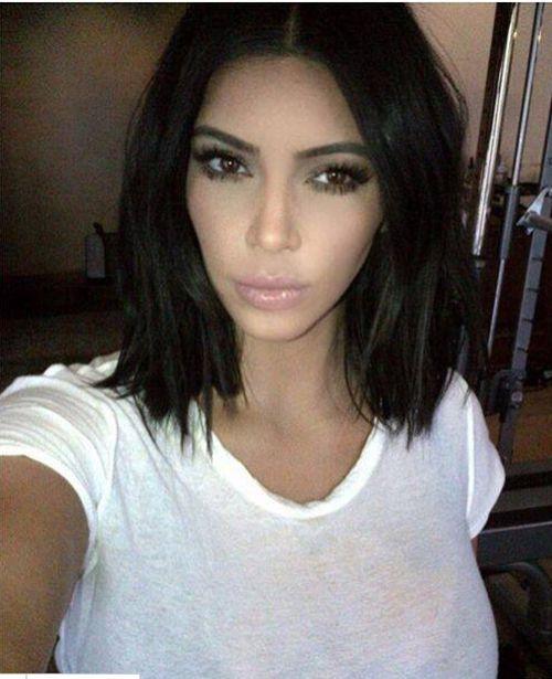 Kim Kardashian vermisst ihre kurzen Haare