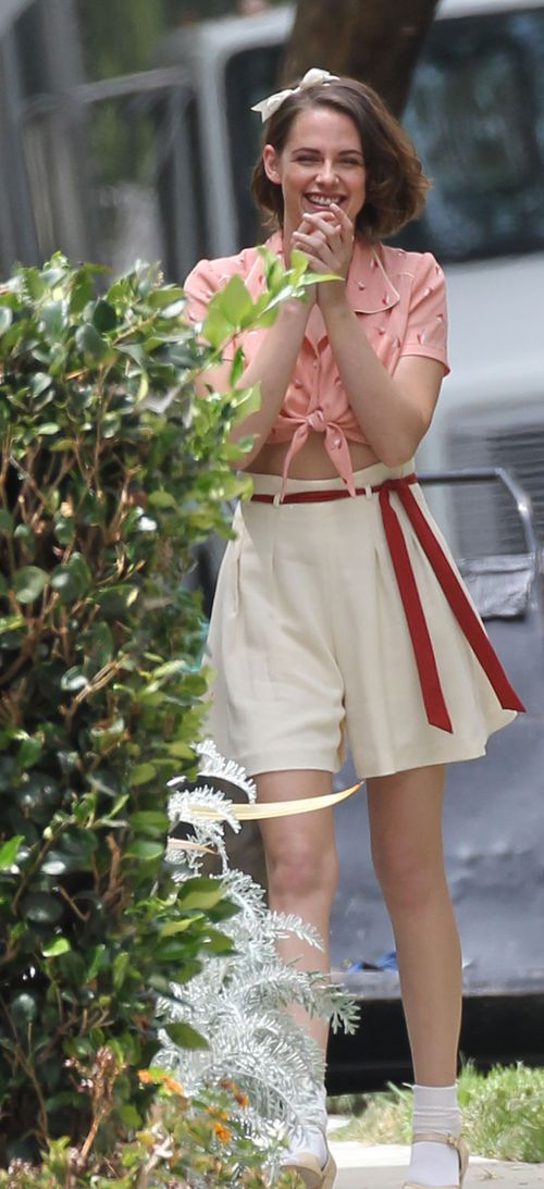 Kristen Stewart dreht momentan in New York