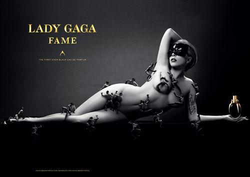 Lady GaGa wirbt nackt für ihr Parfüm