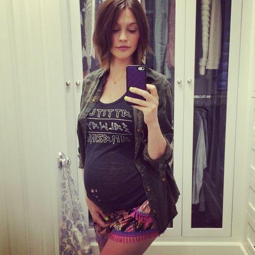 Lisa Osbourne ist im achten Monat schwanger