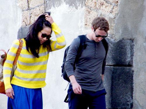 Mark Zuckerberg und Priscilla Chan haben eine harte Zeit hinter sich