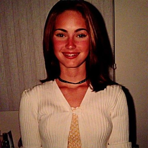 So sah Megan als 12-jähriges Mädchen aus