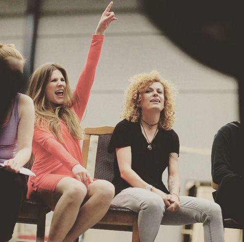 Michèle Fichtner und Lucy Diakovska stehen bald gemeinsam auf der Bühne