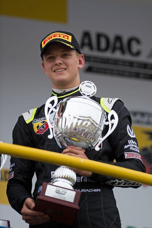 Mick Schumacher holte heute seinen ersten Sieg in der Formel 4