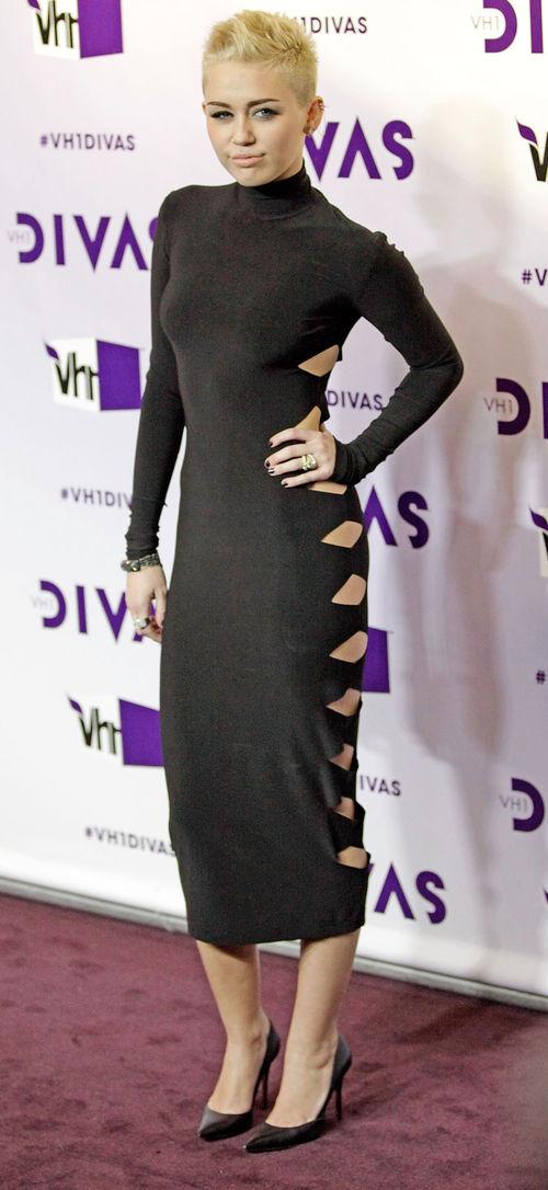Miley Cyrus überraschte 2012 mit kurzer Mähne