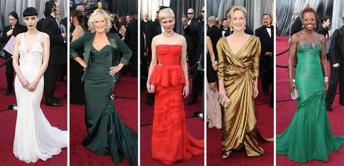 Welche der Nominierten für die beste Hauptrolle sah am Schönsten aus bei der diesjährigen Oscar-Verleihung?