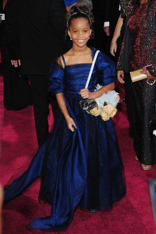 Quvenzhane Wallis sah beim Oscar entzückend aus