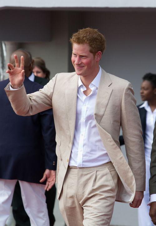 Prinz Harry ließ es so richtig krachen