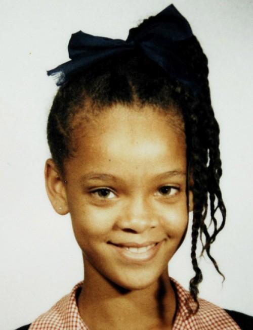 Rihanna war schon als junges mädchen einfach bildhübsch