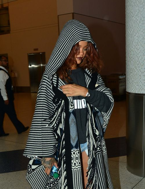 Rihanna ist gerade wieder in Los Angeles gelandet