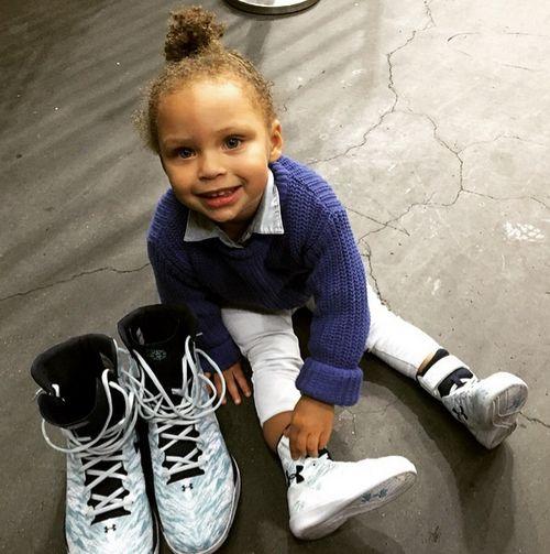 Riley Curry ist der neue Star in der Internetwelt