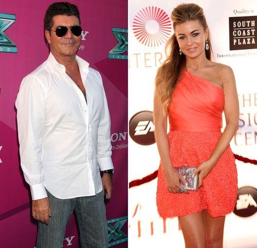 Simon Cowell und Carmen Electra sollen sich schon seit mehreren Monaten daten
