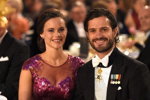 Prinz Carl Philip von Schweden und seine Ehefrau Sofia sollen angeblich ein Baby erwarten