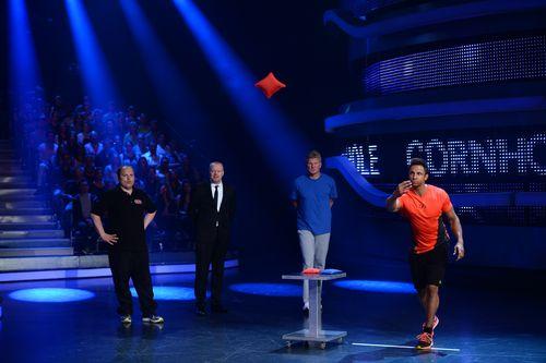 Stefan Raab war heute das erste Mal nach Bekanntgabe seines Rücktritts im TV zu sehen