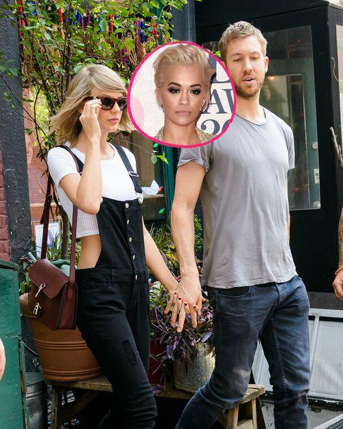 Rita Ora hat sich zu der neuen Beziehung ihres Ex-Freunds Calvin Harris geäußert