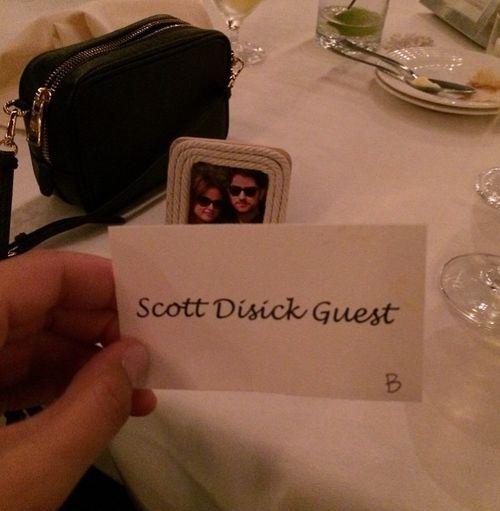 Scott Disick war auf der Hochzeit eines Freundes