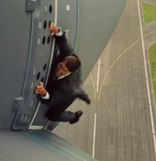 Bei diesem Stunt bekam Tom Cruise es mit der Angst zu tun