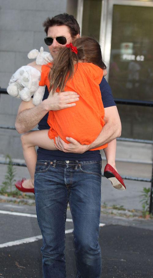 Tom Cruise sieht zum ersten Mal nach der Trennung seine Tochter