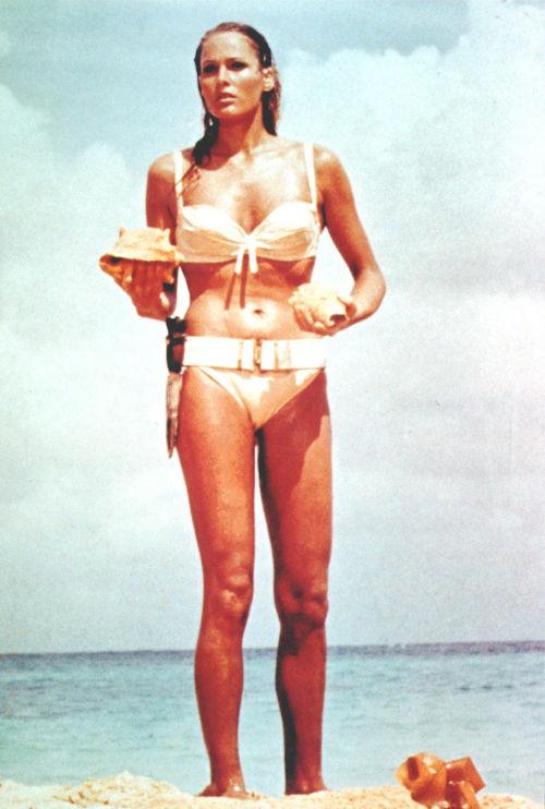 Ursula Andress war das erste Bond-Girl