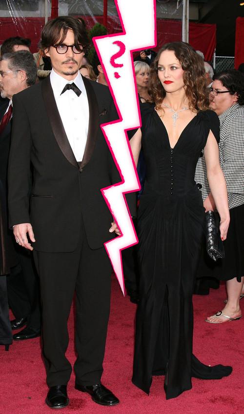 Vanessa Paradis und Johnny Depp sollen sich getrennt haben