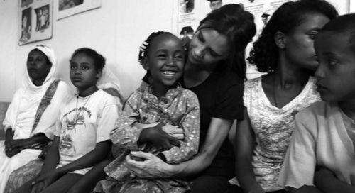 """Victoria Beckham ist für das Projekt """"UNAIDS"""" nach Äthiopien gereist"""