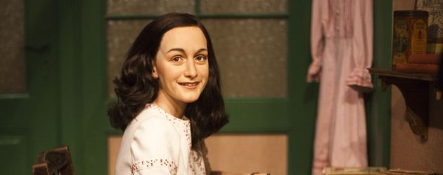 Anne Frank als Wachsfigur