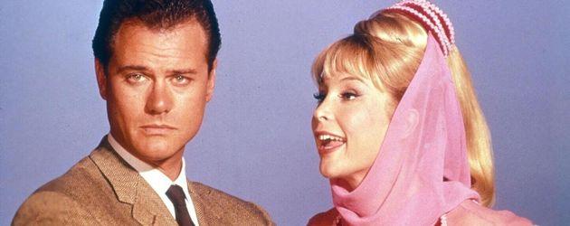"""Barbara Eden und Larry Hagman """"Bezaubernde Jeannie"""""""