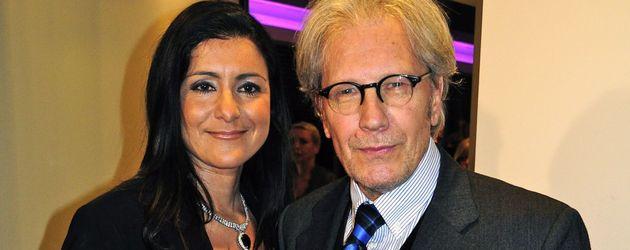 Bernd Herzsprung und Freundin Özlem