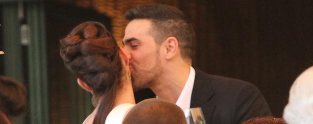 Bushido küsst seine Frau