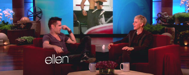 Colin Farrell bei Elen DeGeneres