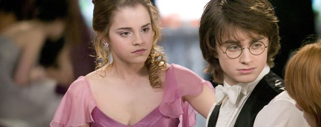 "Daniel Radcliffe mit Emma Watson in ""Harry Potter"""