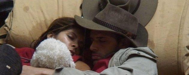 Dschungelcamp 2011 Tag 6: Indira und Jay schlafen