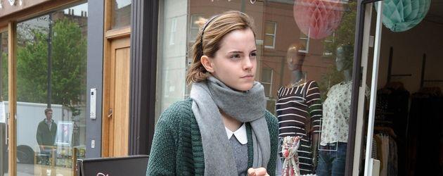 Emma Watson ist ohne Schminke unterwegs