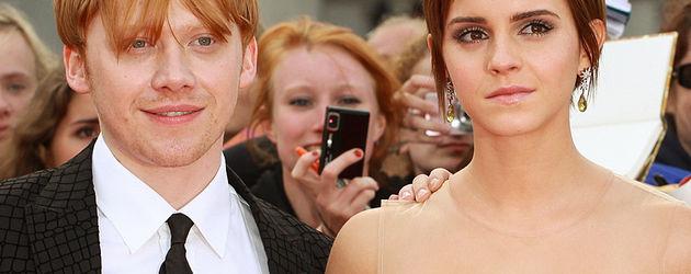 Emma Watson und Rupert Grint