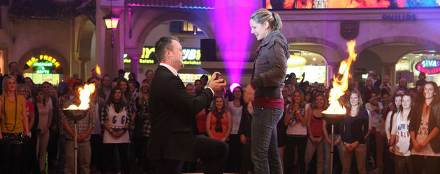 Heiratsantrag in D!'s neuer Show Flash!