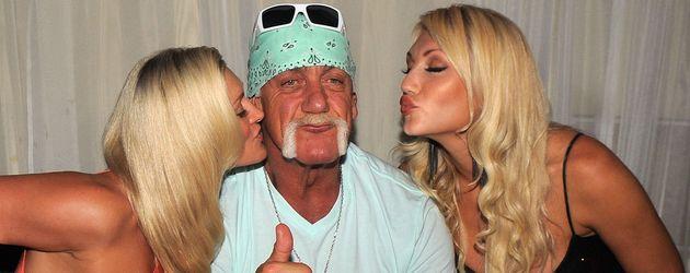 Hulk Hogan feiert Geburtstag mit Brooke Hogan