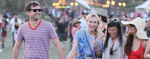 Ian Somerhalder, Nina, Diane und Joshua haben ein Doppel-Date