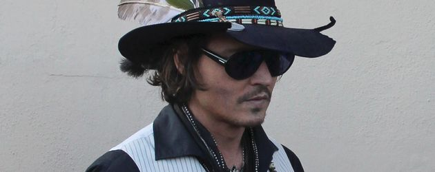 Johnny Depp: Hut steht im gut