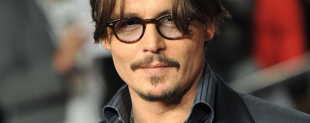 """Johnny Depp na premierze """"Rum Diarys"""""""