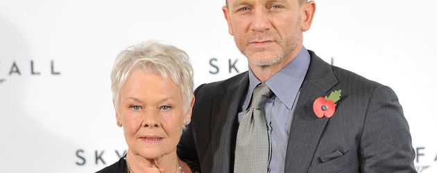 Judi Dench und Daniel Craig