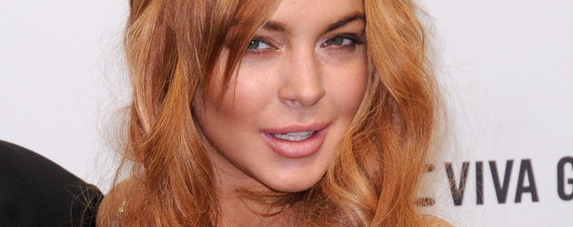 Lindsay Lohan versucht, verführerisch zu schauen