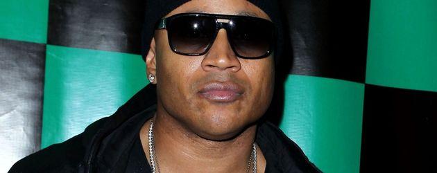 LL Cool J mit Kappe