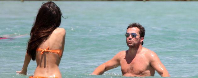 Lothar und Joanna im Wasser