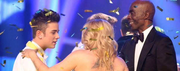 Luca Hänni wird gratuliert