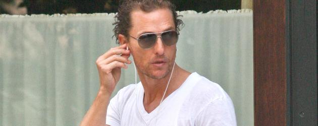 Matthew McConaughey mit iPod